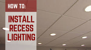 2x2 Led Drop Ceiling Lights Lowes How To Installing Recessed Lighting