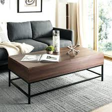 interesting lift top coffee tables with storage table caspian shelf wooden furniture