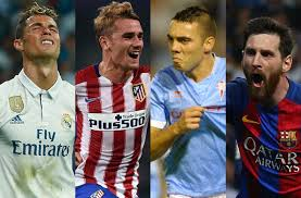 Spanish La Liga Top Scorer 2017 18 La Liga Players Rating