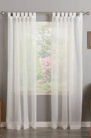 tab top sheer curtains. Tab Top Sheer Curtains - Set Of 2 White More E