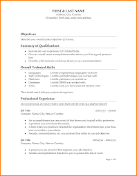 Awesome Collection Of Resume Profile Section Examples Write A