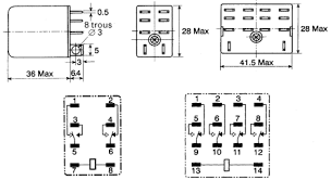 how to connect a dpdt relay in circuit entrancing base wiring 11 Pin Ice Cube Relay Wiring Diagram 11 pin relay base wiring 11 11 Pin Relay Base Layout