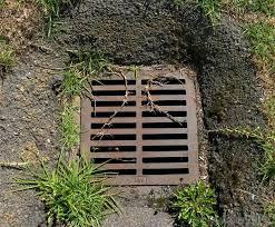 drain tile yard broken drain tile in yard