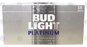 Bud Light Platinum Font Groceries Express Com Product Infomation For Bud Light