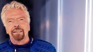 Richard Branson: Hauptsache früher als Jeff Bezos im All - WELT