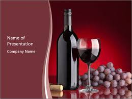 Wine Powerpoint Template Love Red Wine Powerpoint Template Backgrounds Google Slides Id