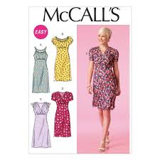 Mc Calls Patterns Magnificent McCall's Pattern M48 Misses' Dresses Easy WeaverDee