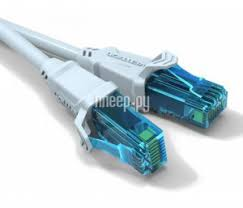 <b>Сетевой кабель</b> Vention UTP cat.5e RJ45 75cm Grey VAP-A10-S075