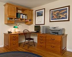 Custom Made Home Office Desk And Cabinet  CustomMadecom