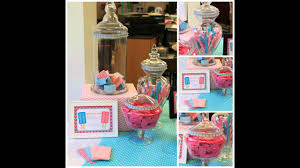 Decorating Ideas For Glass Jars Twinsbabyshowerideasclearglassjarforpinkbluepapergames 95