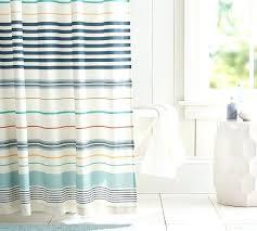 barn shower curtain multi stripe shower curtain pottery barn pottery barn shower curtain waffle