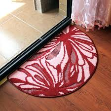 half round rugs sophisticated half round rug circle rugs kitchen doctor in remodel for half round