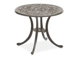 garden one kings modern metal patio side table and how to rust proof cast iron