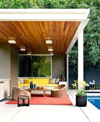 exceptional mid century modern patio designs for your outdoor spaces rustic mid century modern patio table