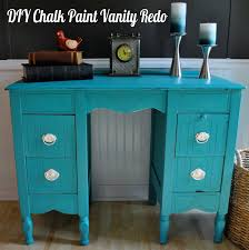 furniture painted with chalk paintLife With 4 Boys Furniture Painting  DIY Chalk Paint Vanity Redo
