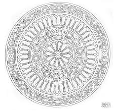 mandala coloring pages for adults free.  For A Free Mandala Coloring Page On Coloring Pages For Adults Free B