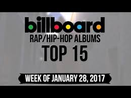 Rap 2017 Charts Top 15 Billboard Rap Hip Hop Albums Week Of January 28