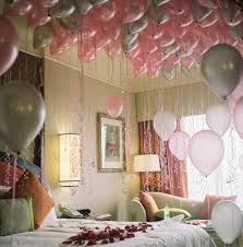 cute birthday decoration in bedroom design pinterest