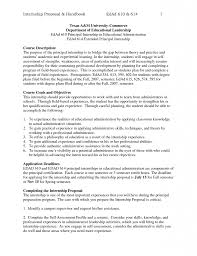 Resume Example Educational Administrator Cover Letter Resume