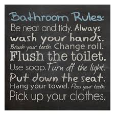 bathroom rules wall art on toilet rules wall art with bathroom wall decor tips for choosing wall art allposters blog