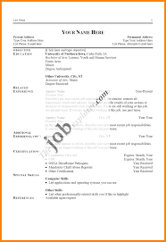 Different Types Of Resumes Barraques Org