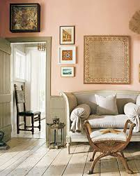 peach paint colorsPaint Palettes We Love  Martha Stewart