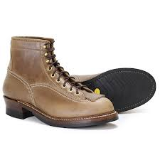 pre order of august 2019 john lofgren er logger boots horween leather