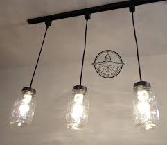 hanging track lighting fixtures. Track Lighting Chandelier Mason Jar Pendant New Quart Hanging Fixtures L