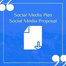 Social Media Proposal Template Free Compelling Social Media Plan Templates To Win Clients