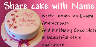 Cake With Name Wishes Write Name On Cake Apps On Google Play