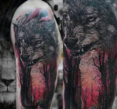 100 Návrhů Lesa Na Tetování Pro Muže Inkoustové Nápady Pro Mužské