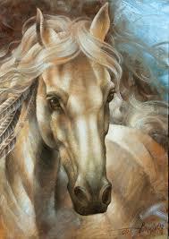 horse painting horse head version by arthur braginsky