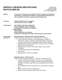 Family Nurse Practitioner Resume Beauteous FNP Resume