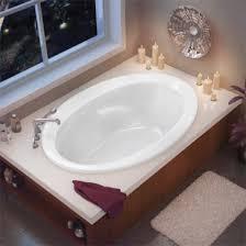 maax twilight oval soaking bathtub 60 x 42 x 20 drop in installation acrylic