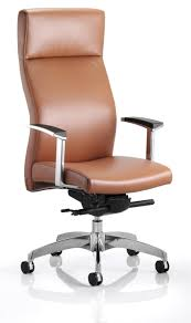 brown leather office chair 9