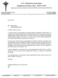 nursing recommendation letter recommendation letter  letter