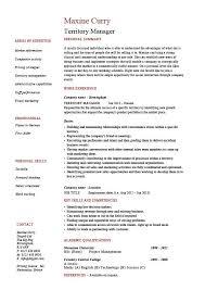 Images Of Job Resumes Territory Manager Resume Regional Job Description Sample Example