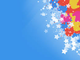 star ppt background colorful stars pattern free ppt backgrounds for your powerpoint