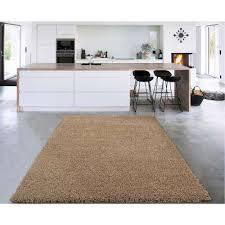 cozy collection beige 7 ft x 9 ft indoor area rug
