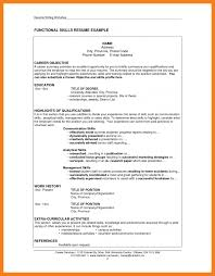 Job Resume Skills Section Sidemcicek Com How To Write A Agreeable