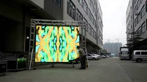 how to install flexible led display panel p16 outdoor led display curtain setup steps easy you