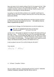 First Letter To Charities Commission Alice Through The Broken Glass