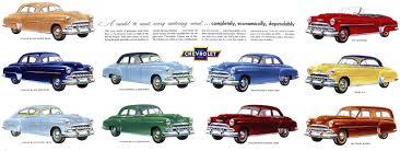 1952 Chevrolet Dealer Literature - '52 Models