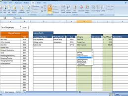 Monthly Expense Tracker Excel Expense Tracker Business Expense Tracking Overhead Expense
