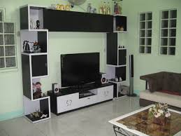Wall Mounted Living Room Cabinets Walnut And White Cabinets Contemporary Living Room White Living