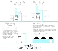 standard kitchen island height bar stool standard height bar stool height for kitchen island lovely creative