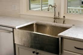 hammered kitchen sink