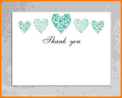 Blank Thank You Card Template Word 8 Thank You Card Template Word Card Authorization 2017