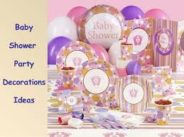 Baby Shower Party Checklist Decorations Ideas