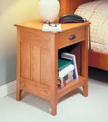 extraordinary computer desk plans cherry wood. Cherry Bedside Table | Woodsmith Plans Extraordinary Computer Desk Wood